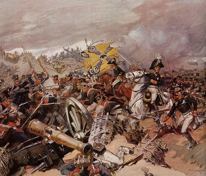 Атака Шевардинского редута