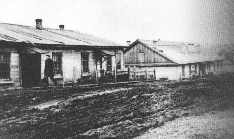 Бараки 1942 год