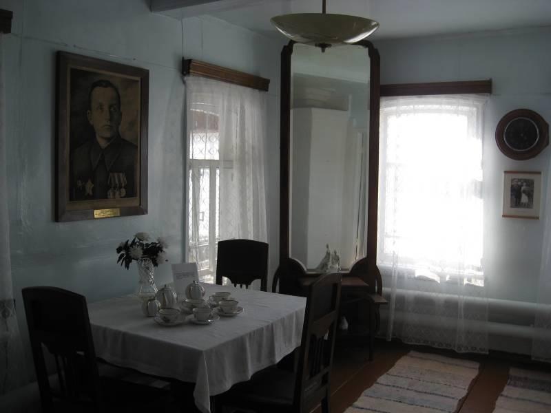 В доме-музее Шпагина Г.С.